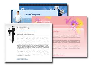 Webdesign Vorlagen